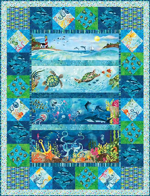 Ocean State Quilt #1