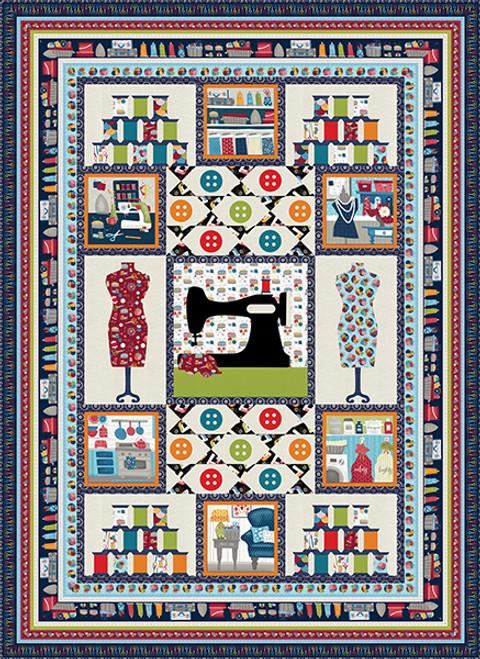 Crafty Studio Quilt #1