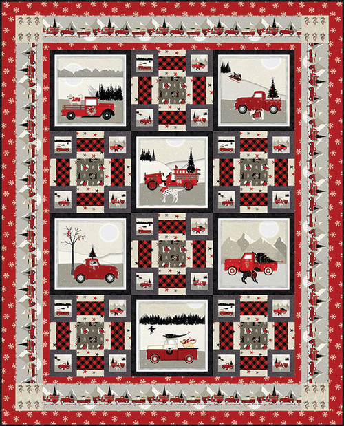 Holiday Road Trip Quilt #1