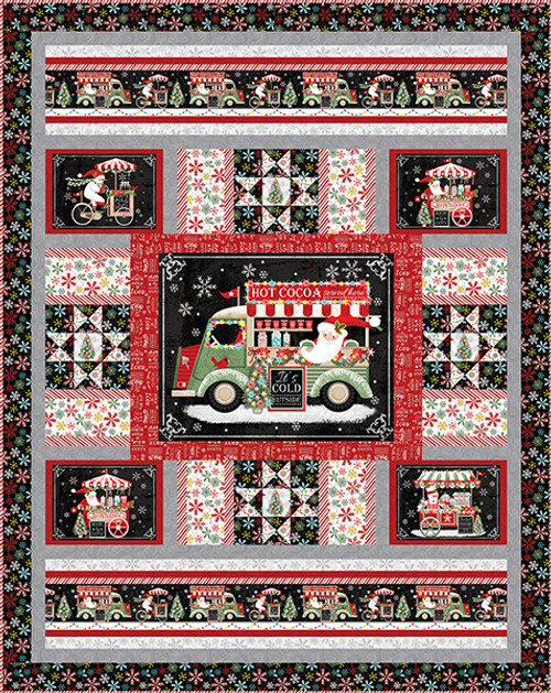 Yuletide Cheer Quilt #1