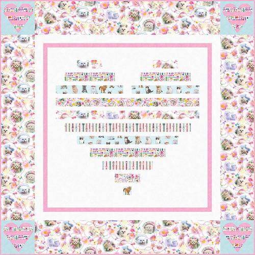 Kitty Glitter Quilt #2