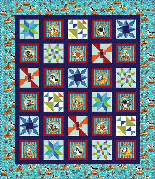 Salty Dogs Quilt #2
