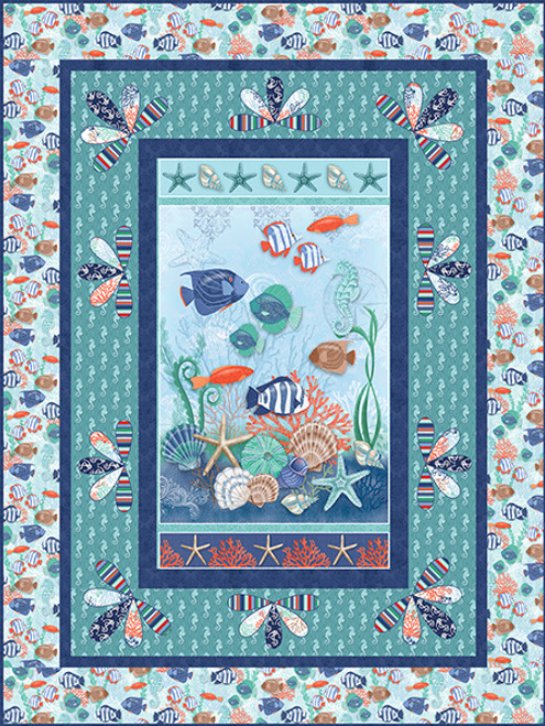 Coastal Dreams Quilt #1