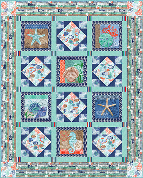 Coastal Dreams Quilt #2