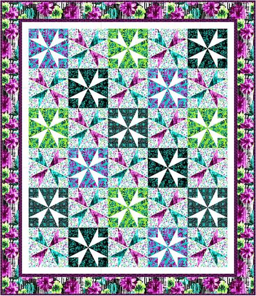 Beauty in Bloom Quilt #1