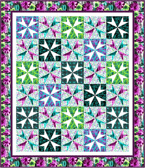 Beauty in Bloom Quilt #1
