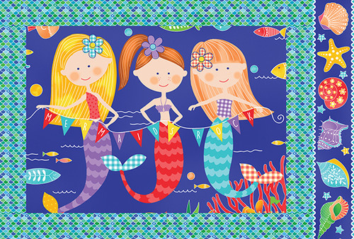 Mermaid Rocks Pillowcase