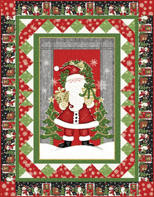 Winter Greetings Quilt #1