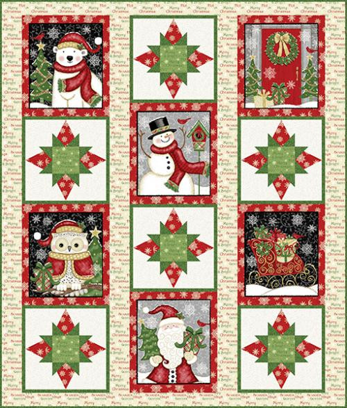Winter Greetings Quilt #2