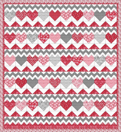 Hugs & Kisses Quilt #2