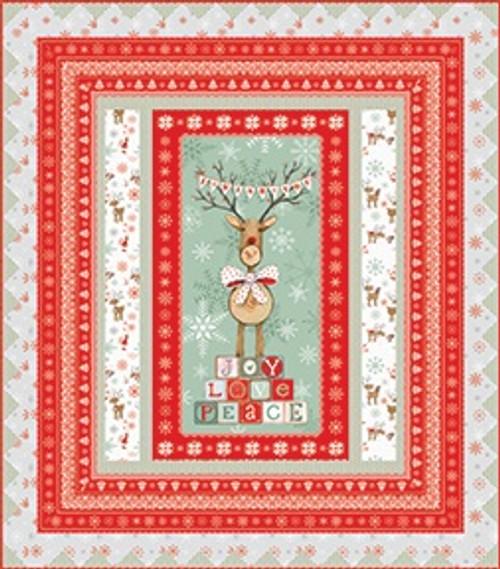 Joy Love Peace Quilt #1