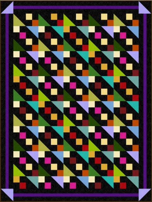 Just Color Quilt #1