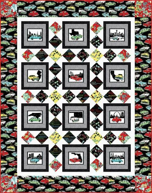 Road to Happiness Quilt # 1