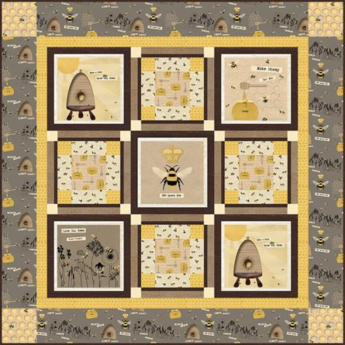 Save Our Bees Quilt # 1