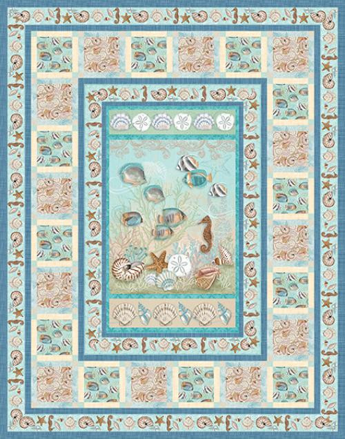 Seaside Dreams Quilt # 1