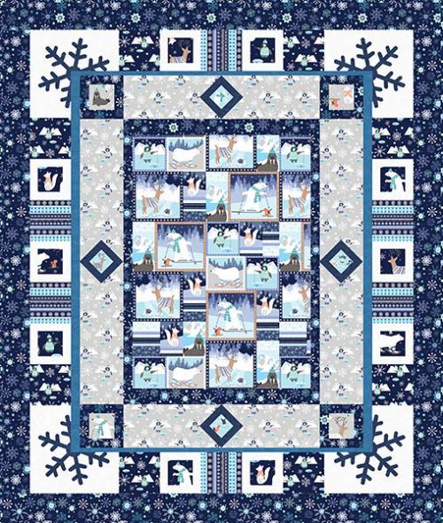 Snow Happy Quilt # 2