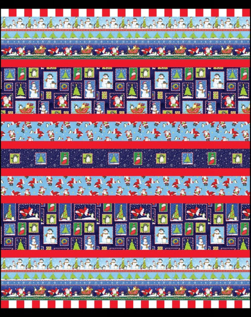 North Pole Greetings Quilt # 2
