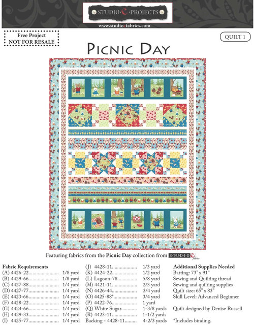 Picnic Day Quilt # 1