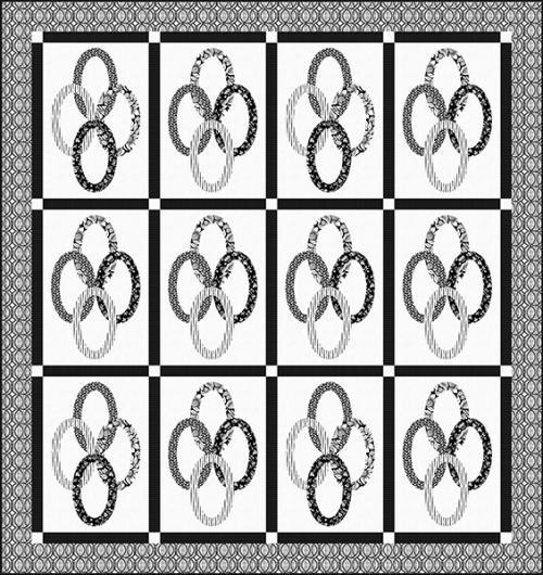 Modern Mixers III Quilt #2