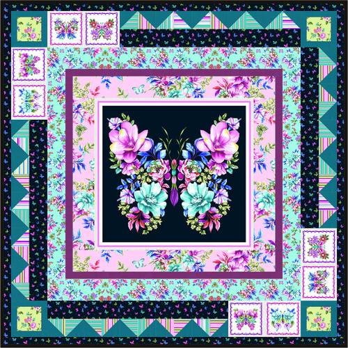 Sweet Perfume Quilt #1