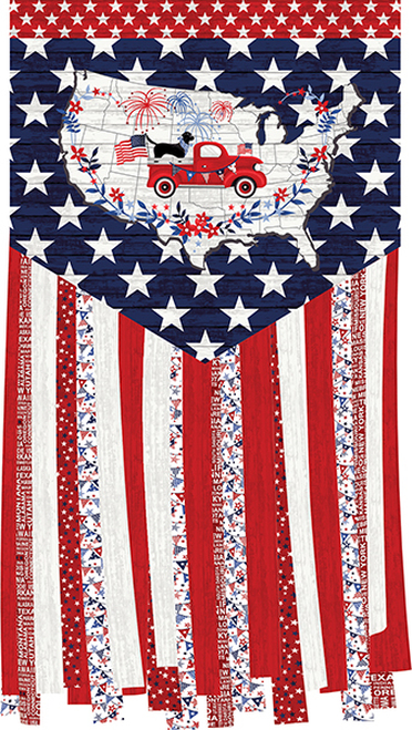 Truckin' In The USA Banner