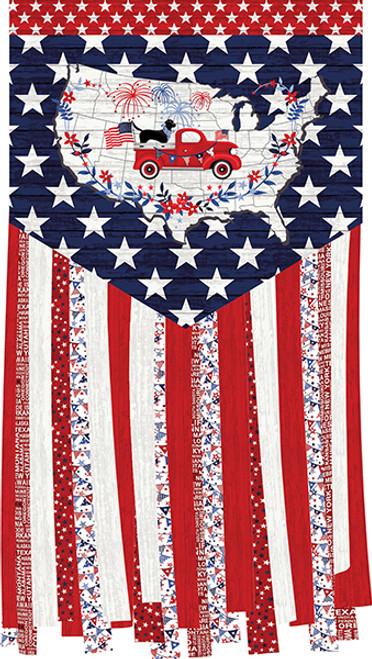Truckin' In The USA Banner