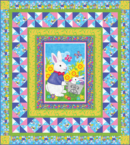 Hello Spring Quilt #1