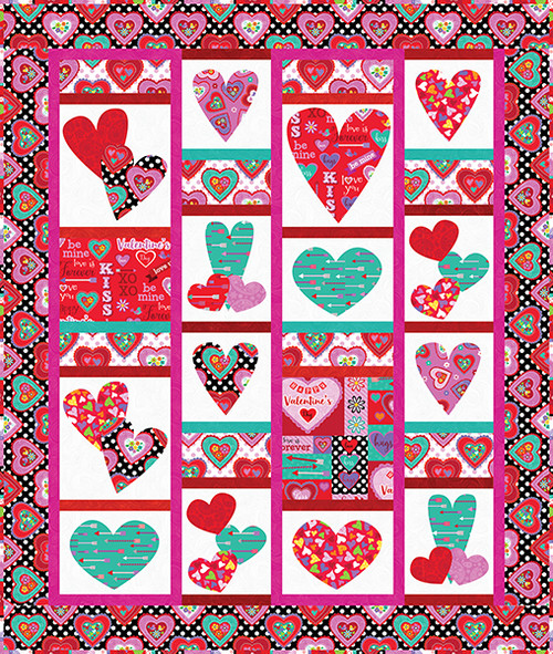 Love is Forever Quilt #1