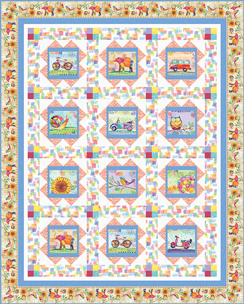 Color My World Quilt #1