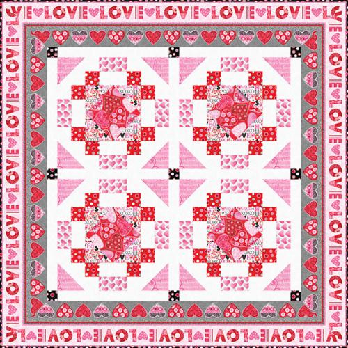 Hearts of Love Quilt #1