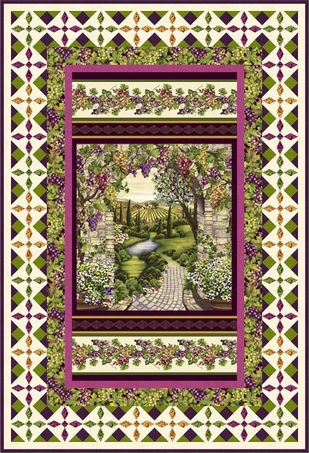 Vineyard Quilt #1