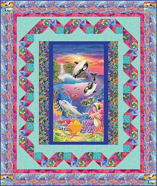 Sea World Quilt #1