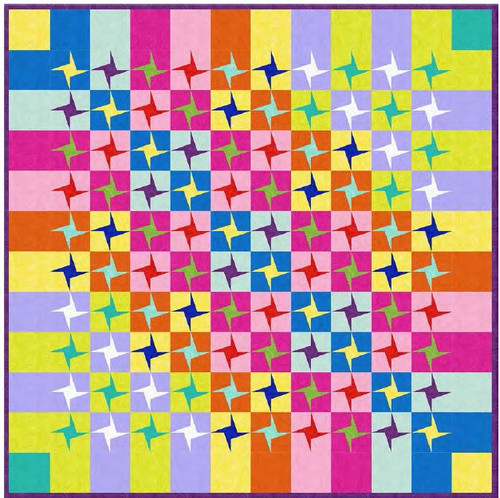 Just Color Quilt -New!