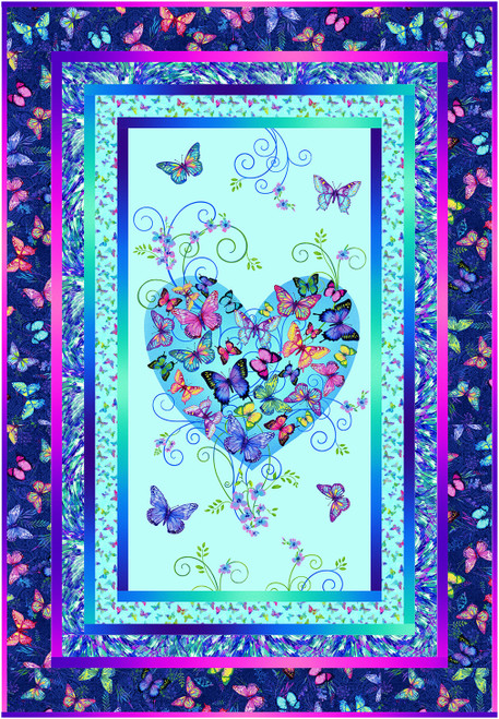Butterfly Paradise Quilt #1