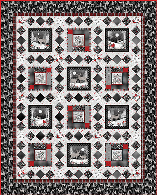 Midwinter Song Quilt #1