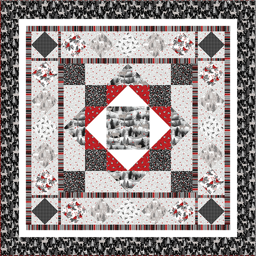Midwinter Song Quilt #2