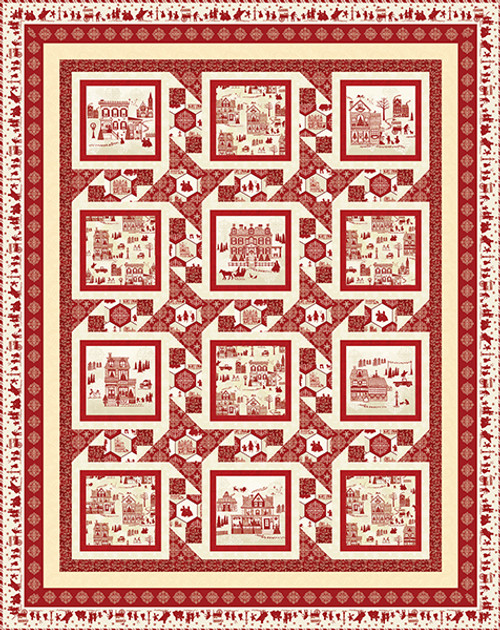 Home for the Holidays Quilt #1