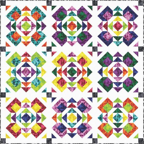 Prismachrome Quilt #1