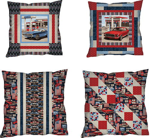 American Muscle Pillows