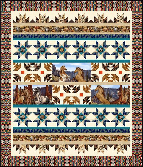 Wild Wild West Quilt #2