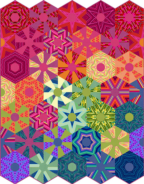 All Lined Up Quilt #1