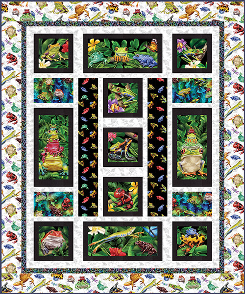 Jewels of the Jungle Quilt #2