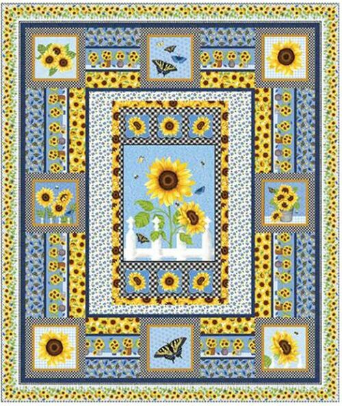 Sunny Sunflowers Quilt #1