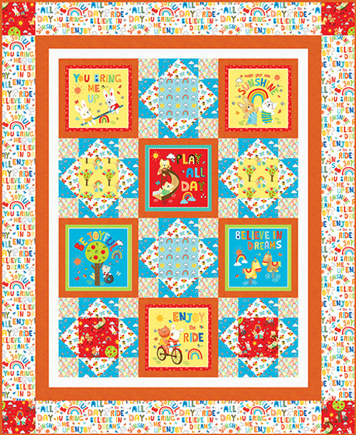 Play All Day Quilt #1