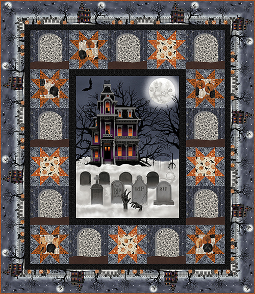 Spooky Night Quilt #1