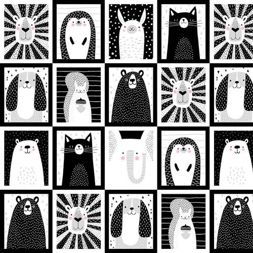 5804-90 Black and White