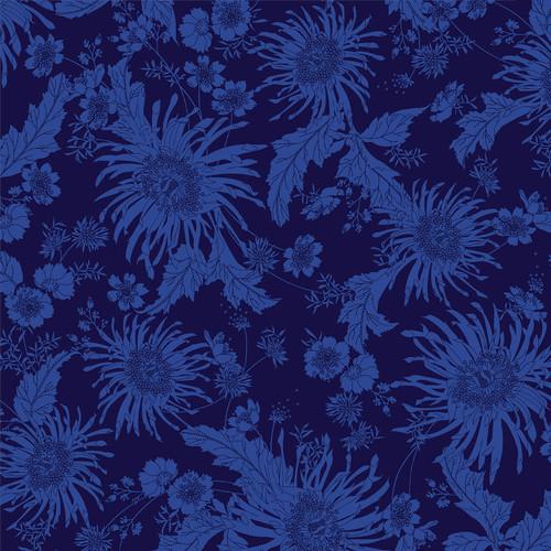 """5838-77 DK. Blue    Bloom 108"""""""