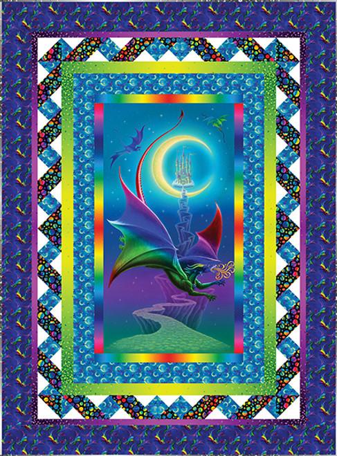 Rainbow Dragon Quilt #1