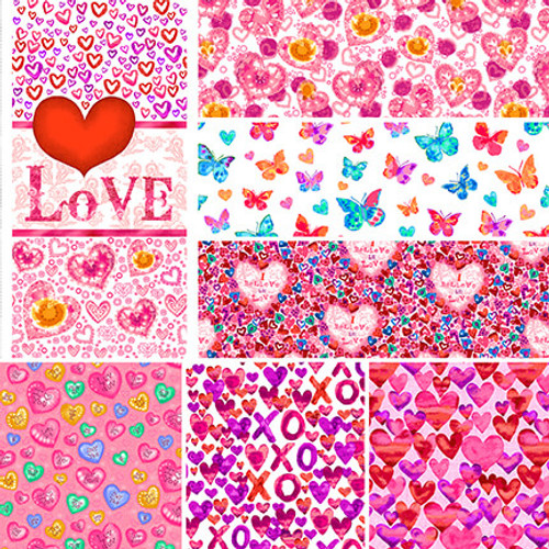 Color My Valentine Full Collection