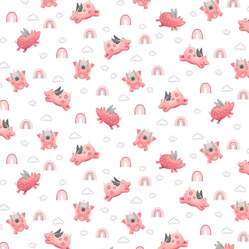 6003-2 Wht/Pink